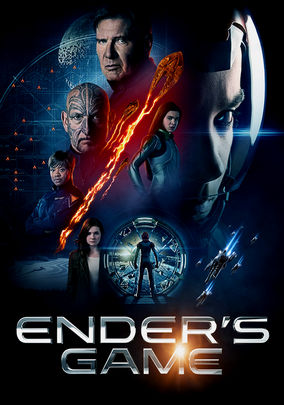 Netflix Box Art for Ender's Game