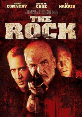 Netflix box art for The Rock