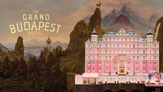 Netflix box art for The Grand Budapest Hotel