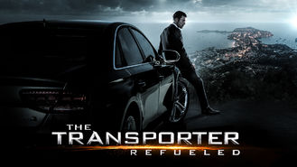 Netflix box art for The Transporter Refueled