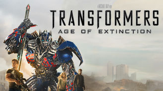 Netflix box art for Transformers: Age of Extinction