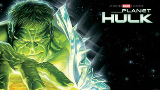 Netflix box art for Planet Hulk