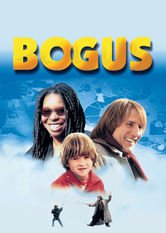 Netflix: Bogus | When his mom dies in an accident, 7-year-old Albert moves in with his godmother but brings along his guardian angel, a bumbling magician named Bogus.